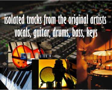 multitrack master | isolated tracks | vocal only - try it