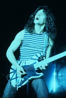 Eddie Van Halen by Carl Lender